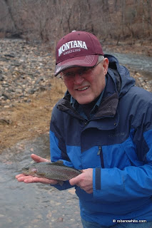 rainbow trout holmes run northern virginia