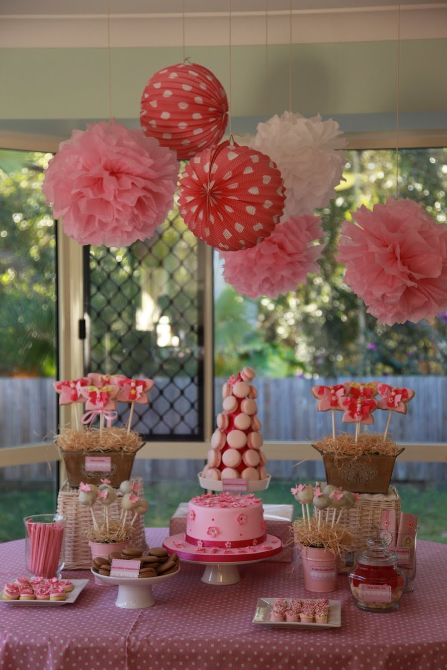 Pink Fairy High Tea Party