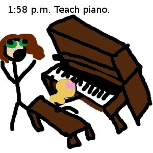 teaching piano 1