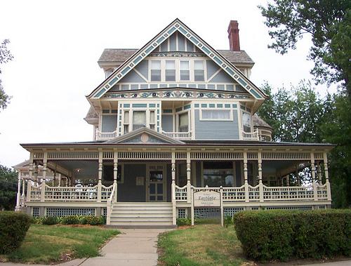Georgiana 39 s garden stili architettonici delle case vittoriane - Finestre stile americano ...