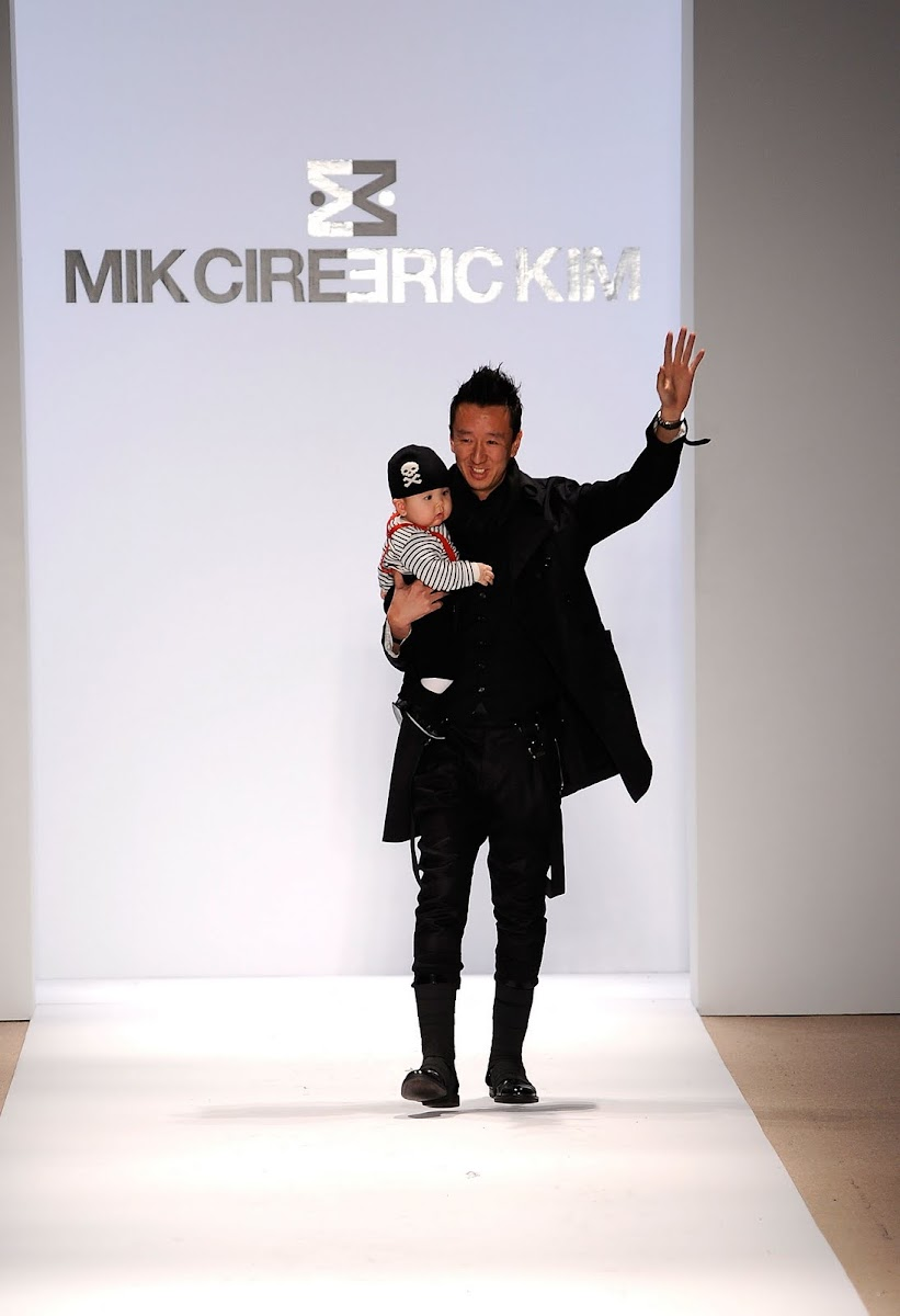 ERIC KIM, MIK CIRE & Mercedes Benz Fashion Week [men's fashion]