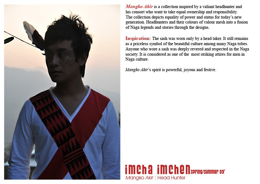 An Interview with Naga Designer Imcha Imchen [men's fashion]