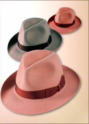 Borsalino Hats Go Green with Rubia® Red