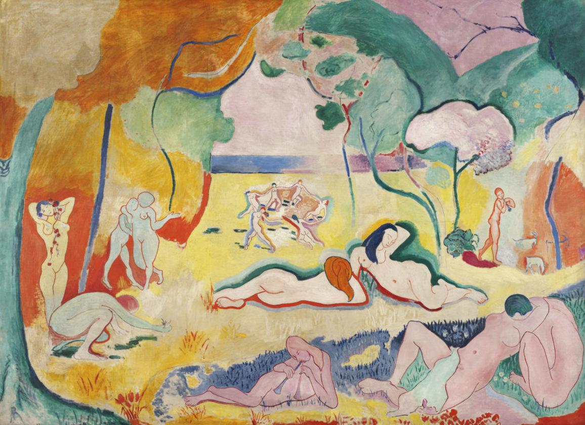 Henri Matisse (1869-1954)  Le Bonheur de vivre (The Joy of Life), 1905-06