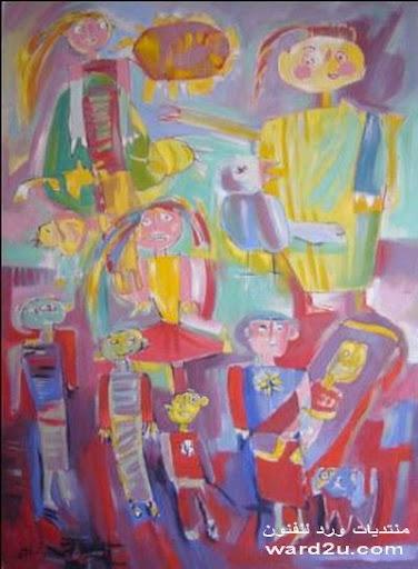 الفنان السورى غسان حسن جعفر