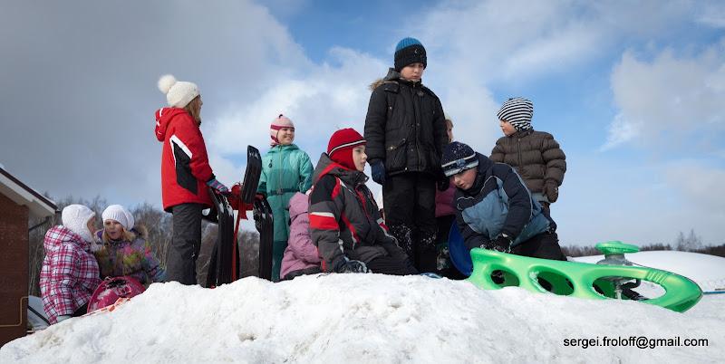 проводы русской зимы прошли в поселке «Родники» на улице Говорова в Одинцово 6 марта 2011