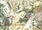 寛永江戸全図の櫻田神社