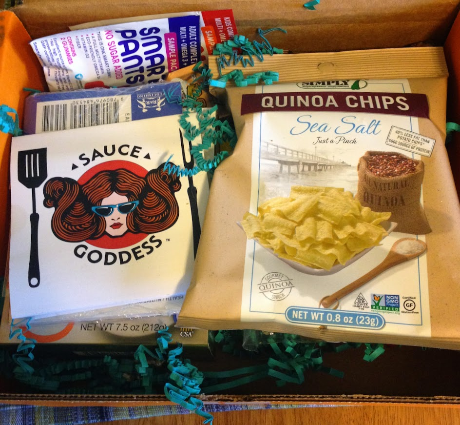 December Send Me Gluten Free box