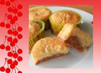 Muffins con Corazón de Chocolate - 2 proPoints - 333_cherries_muffinCh