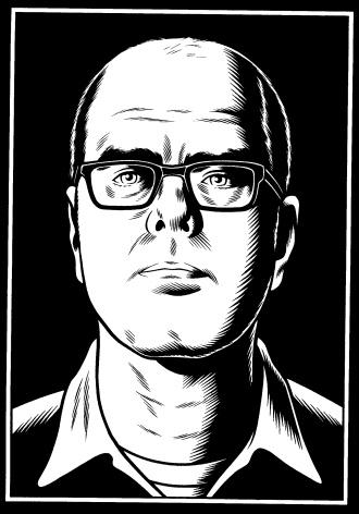 Illustrator and Artist Chuck Burns
