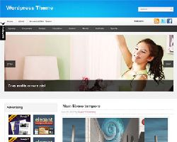 CharmingBlue Magazine WordPress Theme