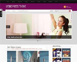 SimplyPurple Magazine WordPress Theme