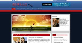 Free Wordpress Theme - RIDEMAX
