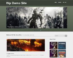 OlivePress Free Minimal Wp Theme
