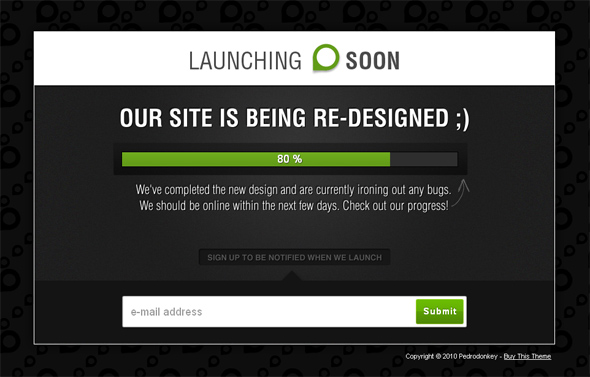 Launching Soon Under Construction Template