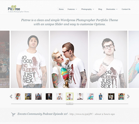 PicTree Minimalist Design WordPress Theme