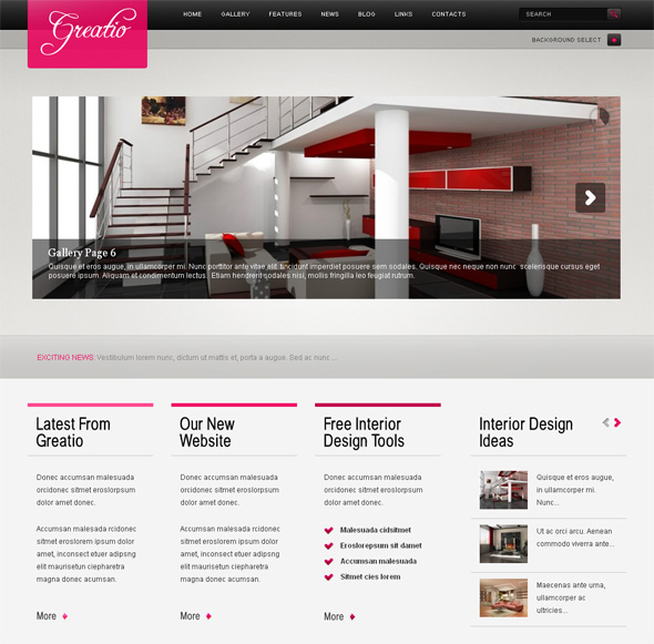 Greatio Professional WordPress Theme