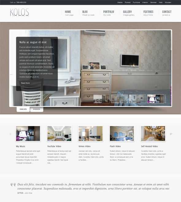 Kolos Professional WordPress Theme