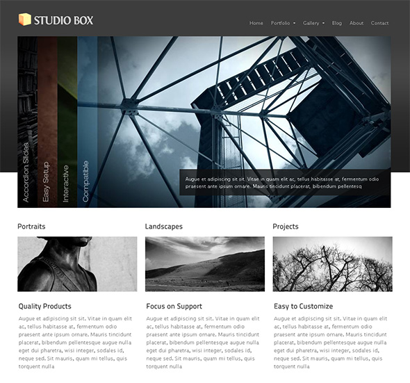 StudioBox Professional WordPress Theme