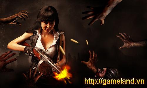 Zombie Girl quay phim hướng dẫn người chơi mới 5