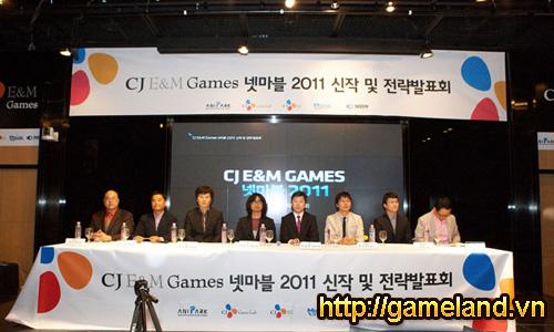 CJ E&M Games: Các tựa game chiến lược trong 2011 2