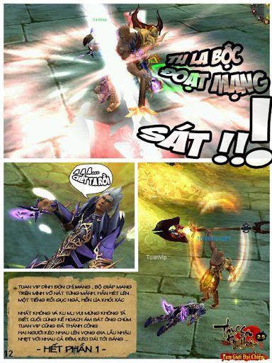 Comic Thục Sơn Kỳ Hiệp: Kế hoạch ám sát 13