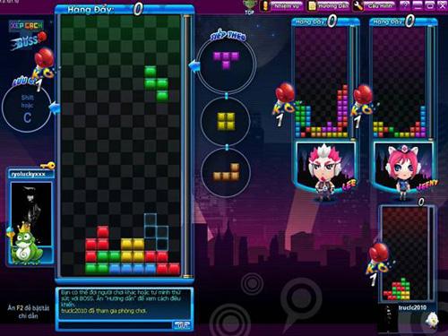 Zing Play ra mắt game Xếp gạch Boss 2