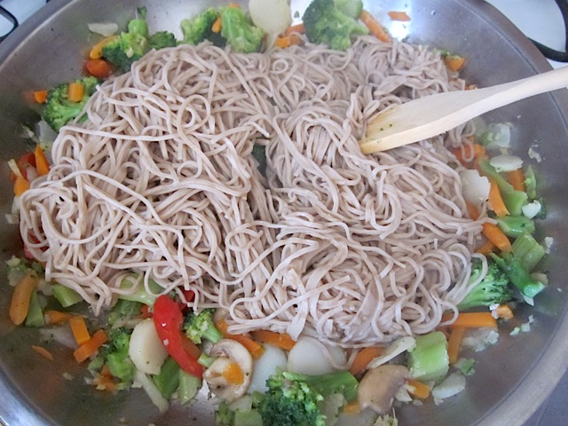add noodles