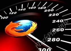 Tăng tốc toàn diện cho Firefox 4