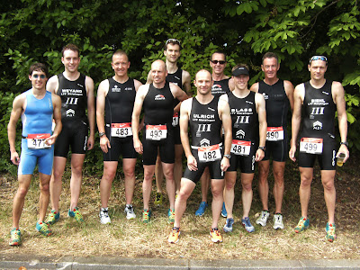 Unsere erfolgreiche Triathlon-Truppe