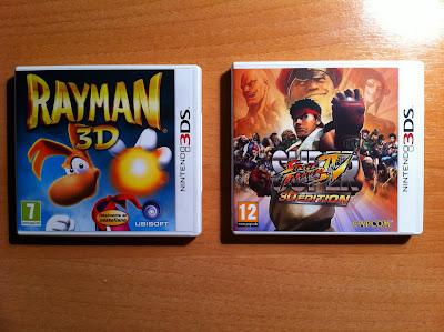 SSFIV y Rayman