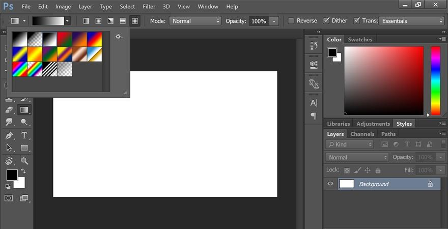 How to Use Gradient Tool in Photoshop