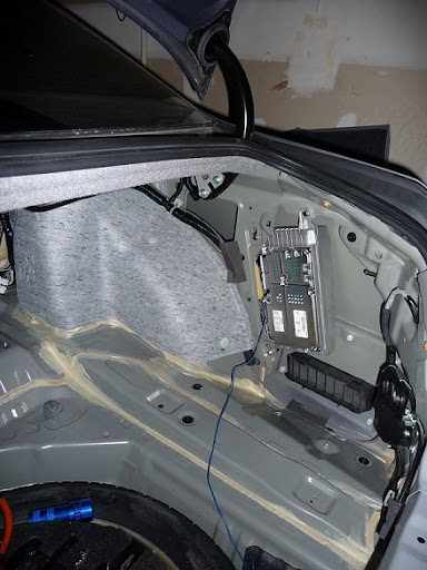 diy amp wire  and backseat removal  - acurazine