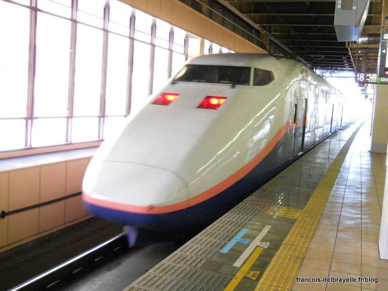 Shinkansen à Utsunomiya