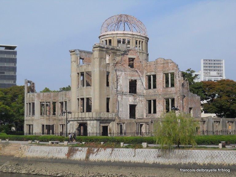 Le dôme de la bombe atomique à Hiroshima