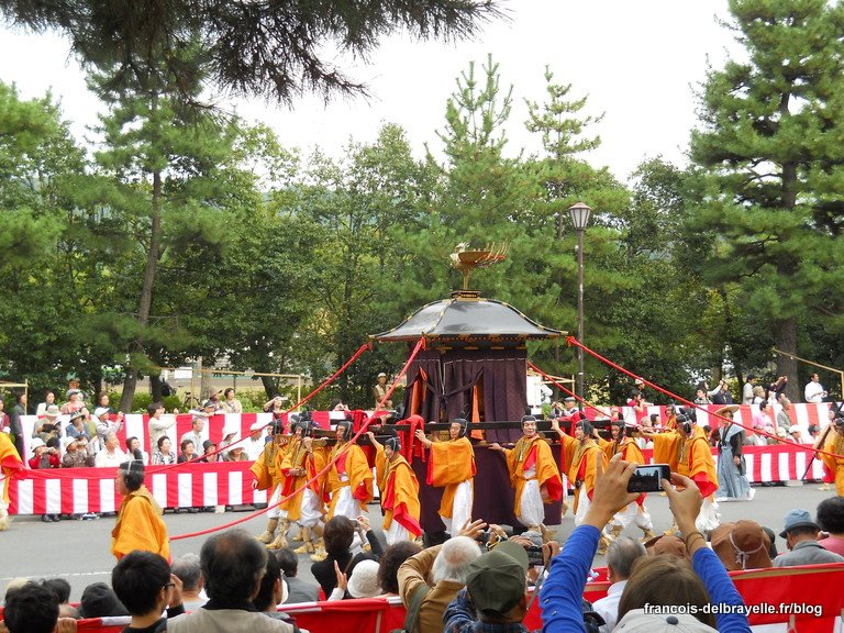 Mikoshi de l'Empereur Kanmu