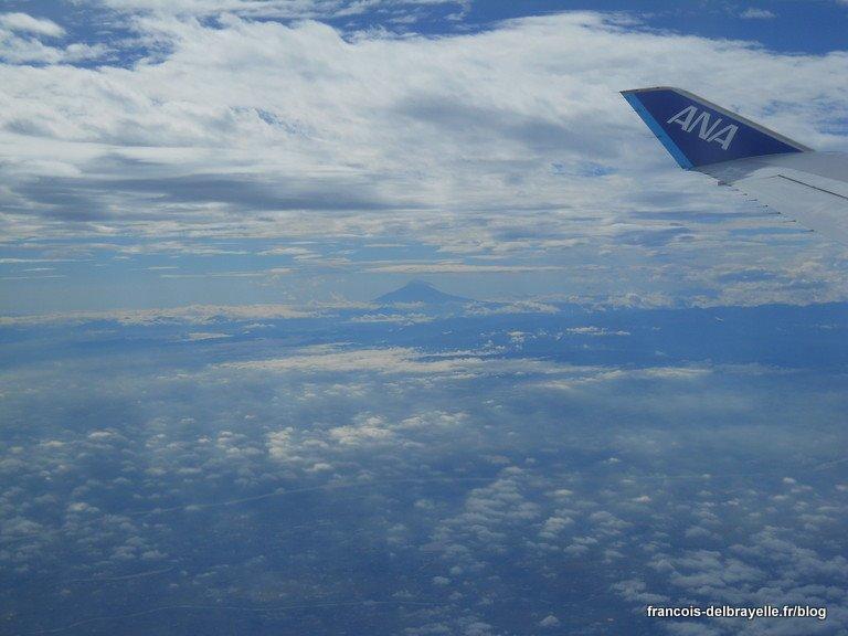 Dernière image du Japon... le mont Fuji !