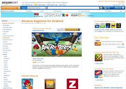 Amazon Appstore im Web