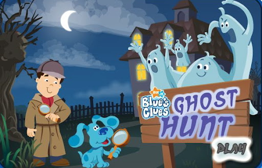 Nick Jr. Game Blue's Clues Ghost Hunt