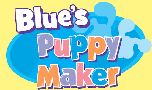 Nick Jr. Blue's Clues Puppy Maker Game