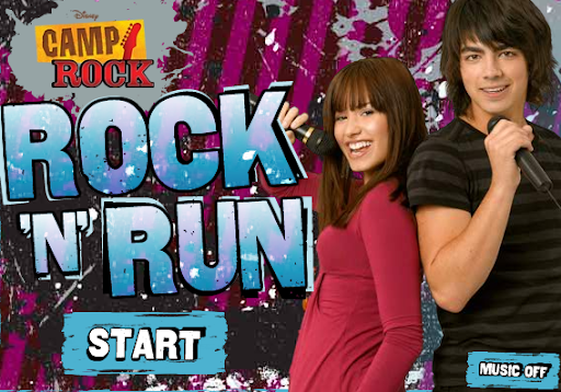 Disney Camp Rock Rock n Run Game