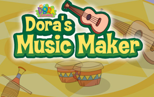 Dora's Music Maker Game