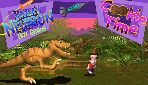 Nickelodeon Jimmy Neutron Cookie Time Game