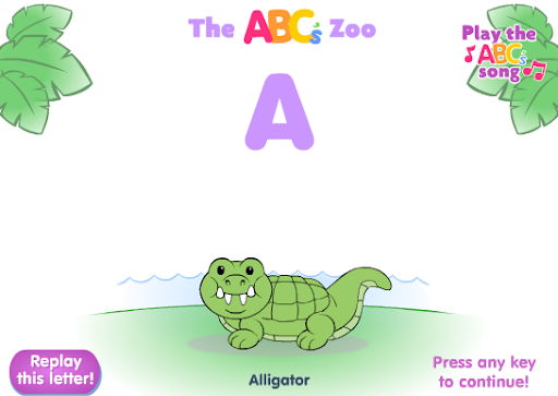 Little People ABC's Zoo Game