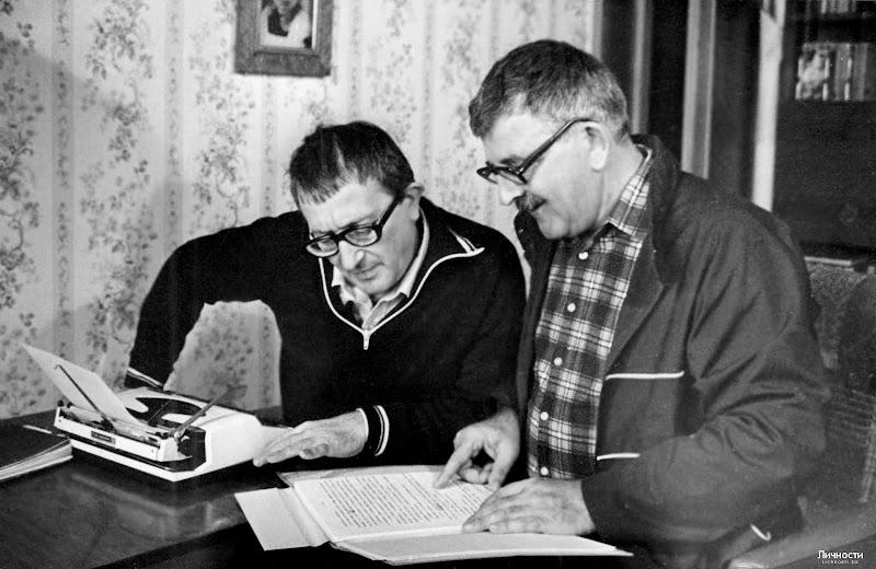 Борис и Аркадий Стругацкие