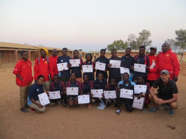 C:\Users\Catherine\Pictures\Pictures\Malawi\Presentation to 15 young coaches and 5 senior coaches.JPG