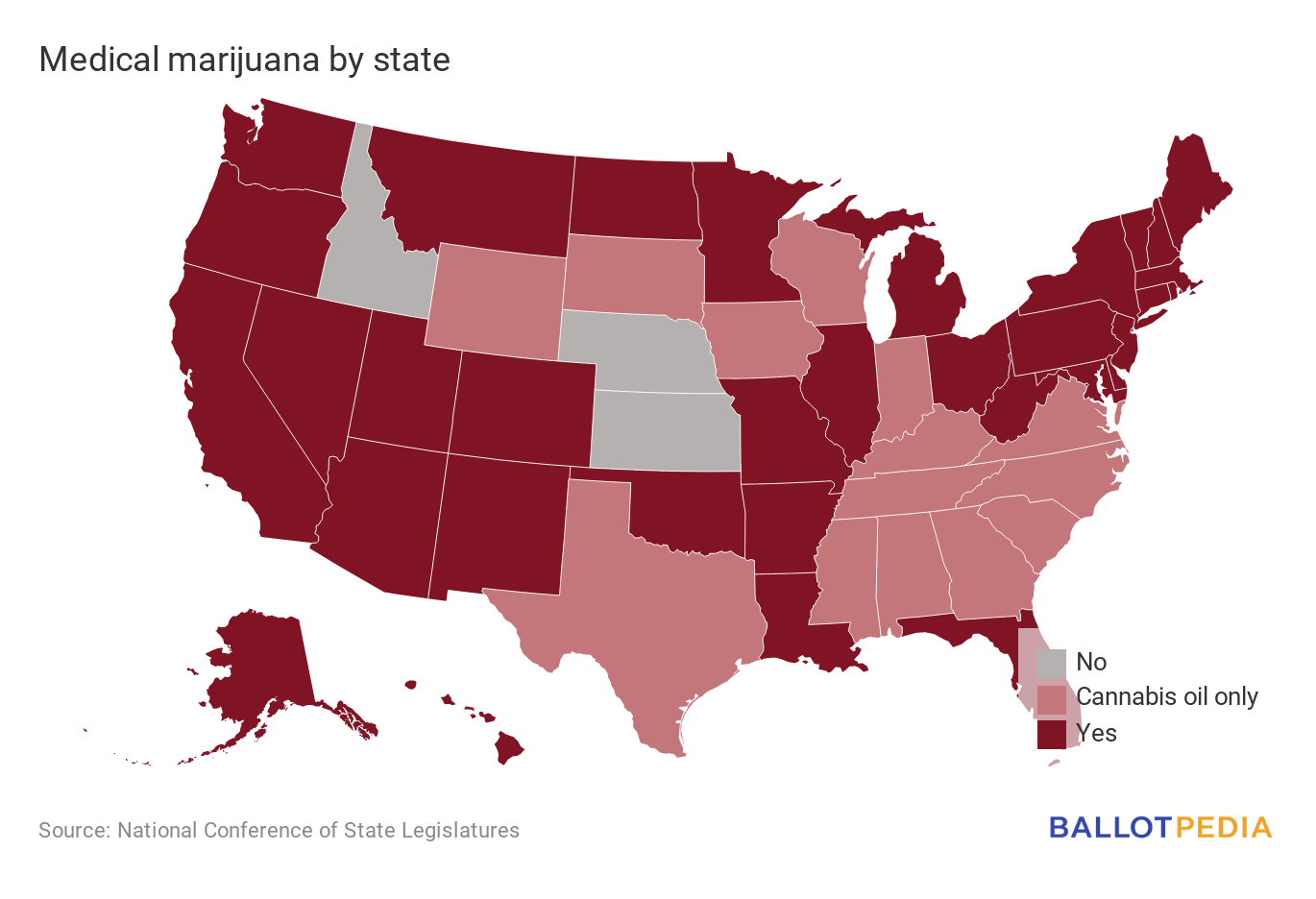 Medical marijuana by state