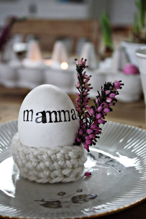 Crochet Egg Holder : activity, stamp sets (for example THIS Clas Ohlson) Man DIY: Crochet ...