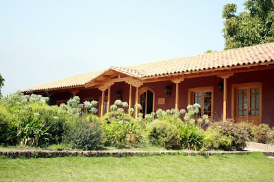 Aquitania winery in the Maipo Valley in Chile