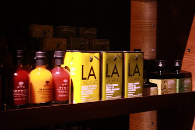 LA olive oil at the Coquinaria shop in Santiago Chile